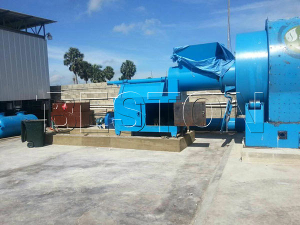BLJ-10 batch pyrolysis plant in Dominica