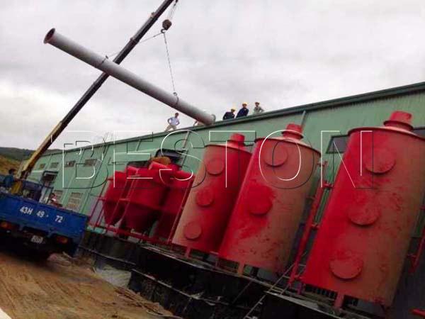 Beston Biomass Carbonization Plant in Vietnam