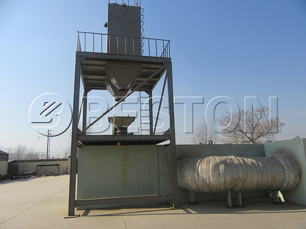continuous waste plastic to oil pyrolysis plant