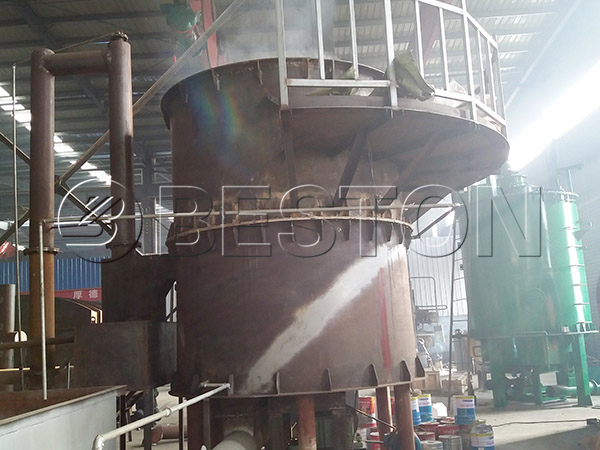 sewage sludge carbonization plant