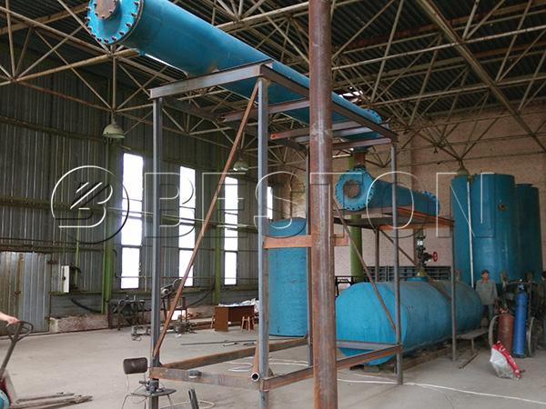 tyre oil to diesel plant in Ukranie