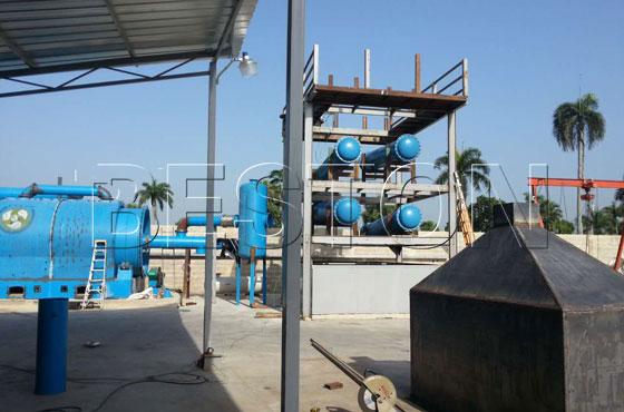 plastic to oil machine for sale in Dominica
