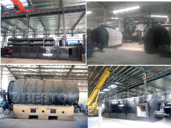 professional waste tyre pyrolysis plant manufacturers