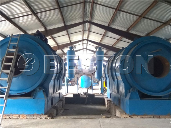 BLJ-6 waste pyrolysis plant