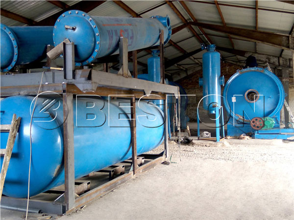 Beston waste pyrolysis plant in Hungary