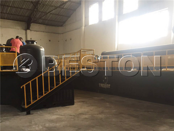 continuous waste pyrolysis plant in South Africa