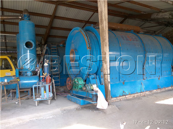 small pyrolysis equipment