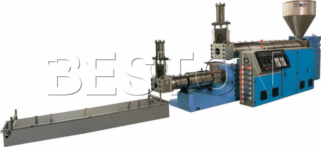 waste plastic granules making machine