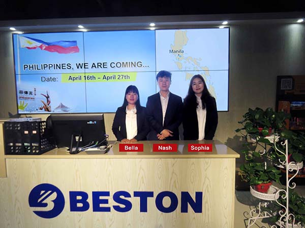 Beston Team Managers Will Visit the Philippines