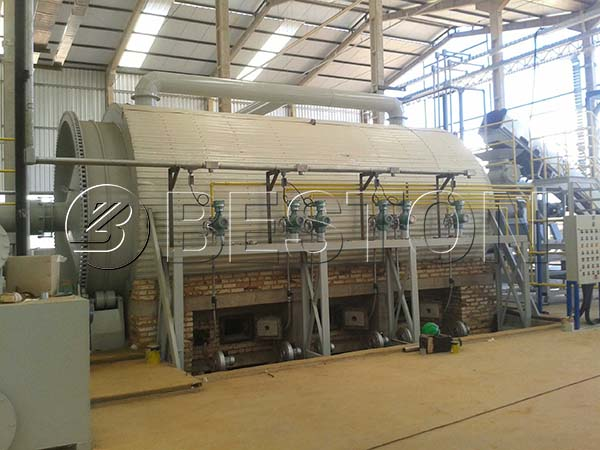 Beston Waste Tyre Recycling Plant Installed in Brazil