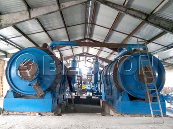 Small Plastic Recycling Plant