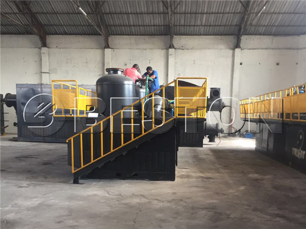 BLL-16 Waste Pyrolysis Oil Plant Installed In South Africa