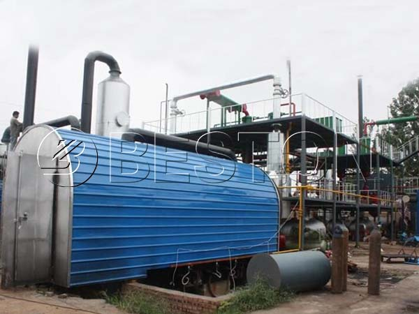 BLL-30 Continuous Waste Tyre Pyrolysis Plant