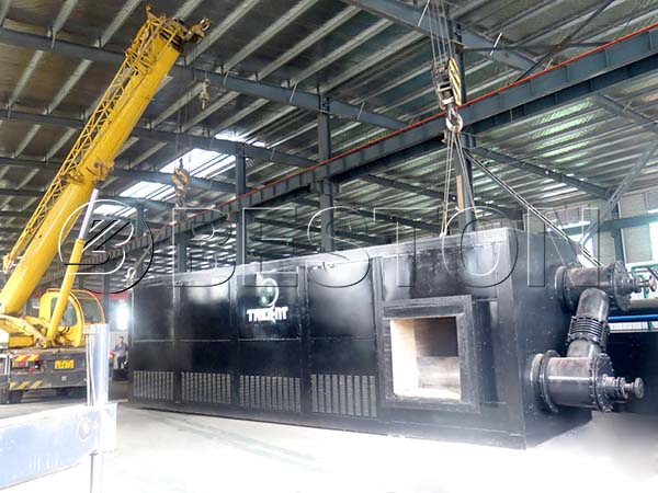 Beston Fully Automatic Waste Tyre Recycling Plant Supplier