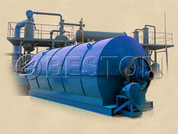 BLL-40 Continuous Waste Tyre Pyrolysis Plant