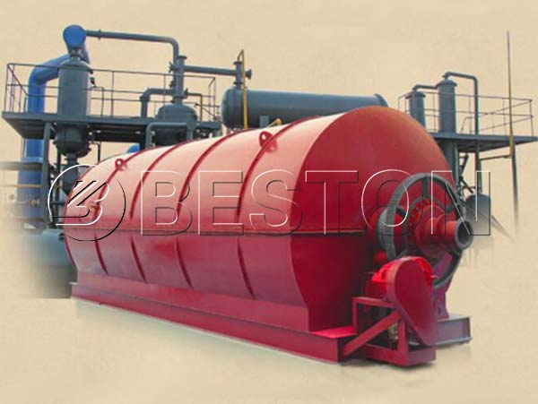 BLL-50 Continuous Waste Tyre Pyrolysis Plant