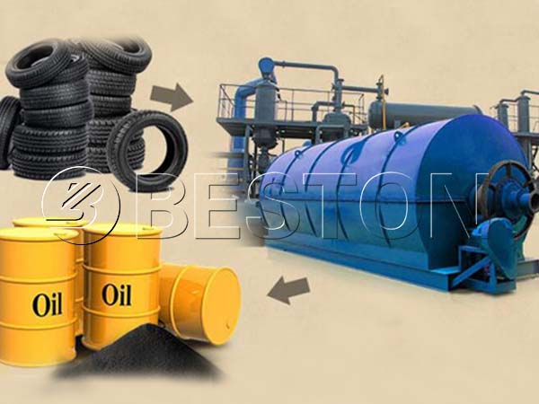 Overview of Waste Tyre Pyrolysis Oil Plant