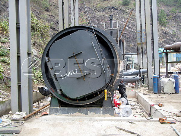 Plastic Waste Pyrolysis Plant in Korea