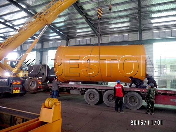 Plastic to Diesel Machine to Indonesia