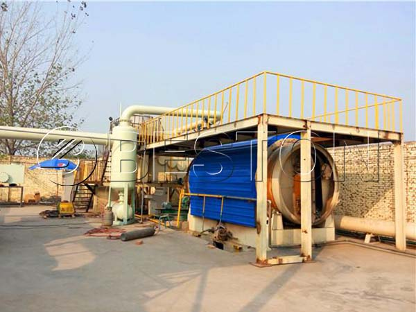 Batch Pyrolysis Plant for Sale