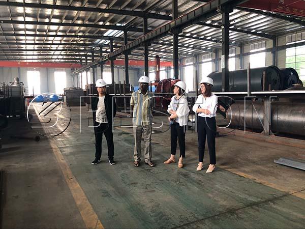 Nigerian Customer In Beston Factory