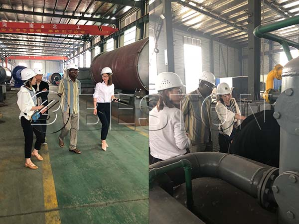 Nigerian Customer Visited Beston