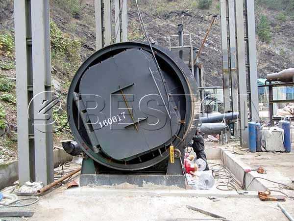 BLJ-10 Waste Plastic Recycling Machine in Korea
