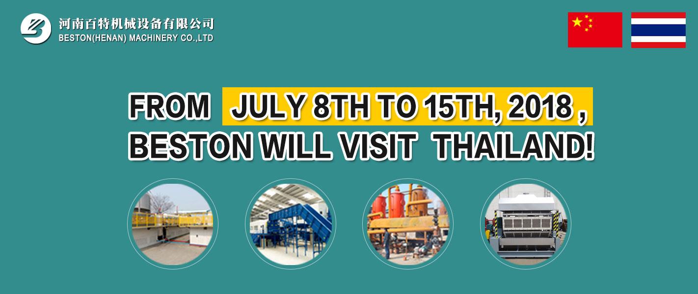 Beston Business Visit to Thailand