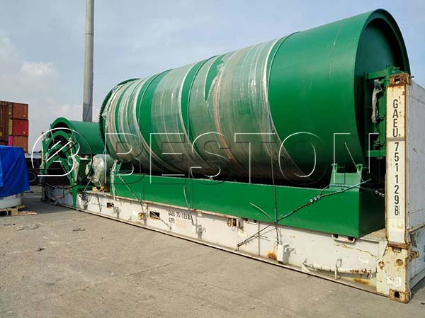 Beston Pyrolysis Machine to Canada