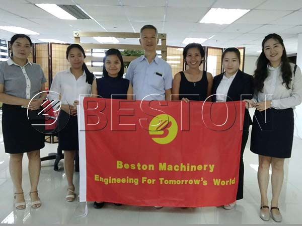 Beston Sales Visited the Philippines