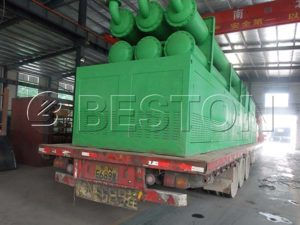 Beston Waste Pyrolysis Plant Shipping to Romania