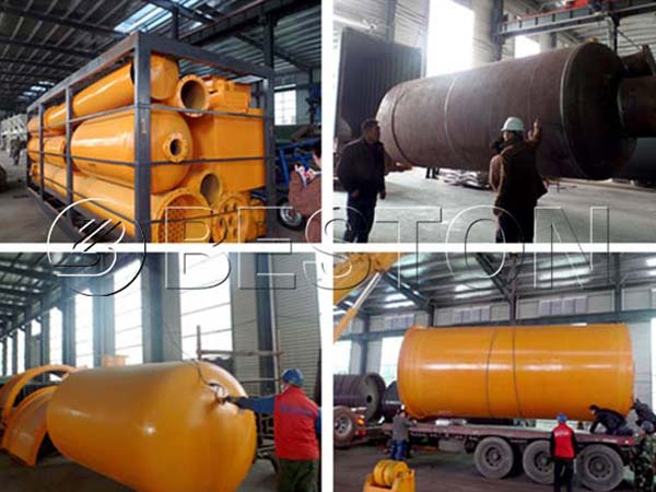 Waste Tire Recycling Equipment in Indonesia