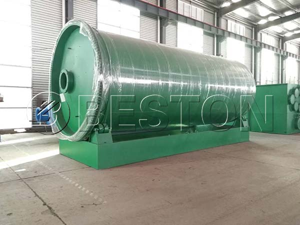 Tyre Pyrolysis Plant to the Philippines