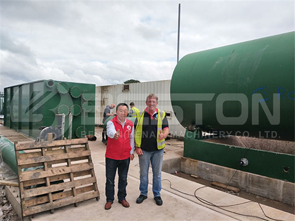 Tyre Pyrolysis Plant in the UK | Top Tyre Pyrolysis Plant Manufacturers