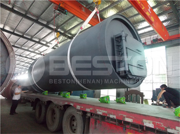 BLJ-10 Waste Pyrolysis Machine to South Africa