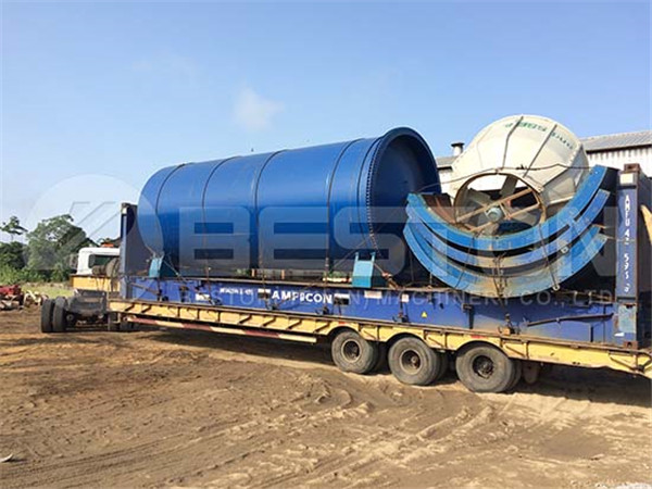 Oil Sludge Pyrolysis Plant to Nigeria