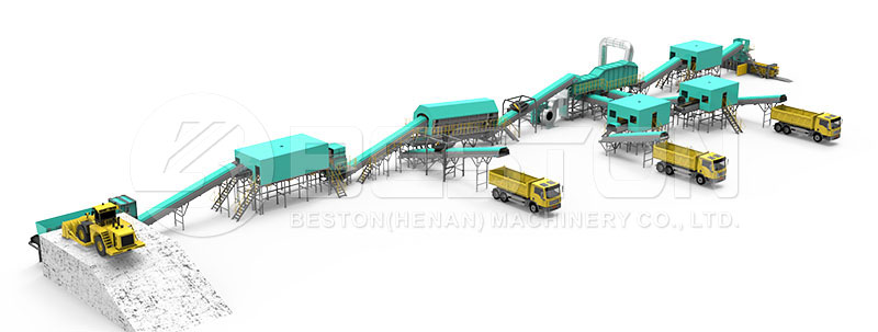 Garbage Sorting Machine Design