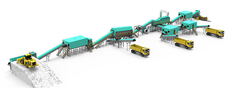 Municipal Solid Waste Sorting Plant