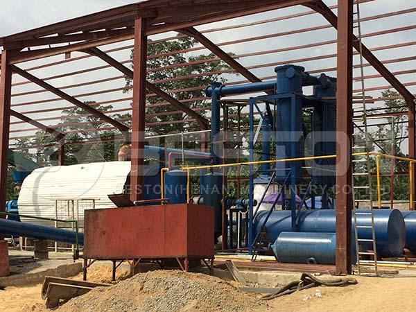 Oil Sludge Treatment Plant in Nigeria