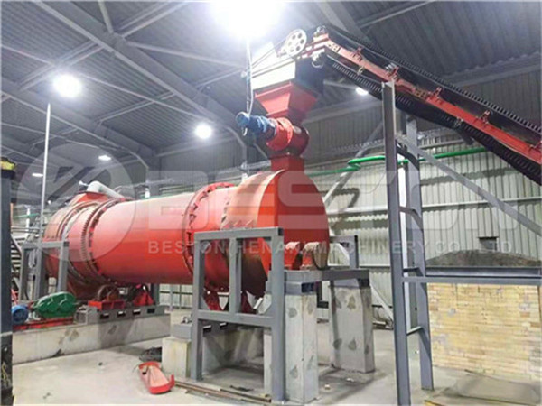 Beston Charcoal Machine in Ukraine