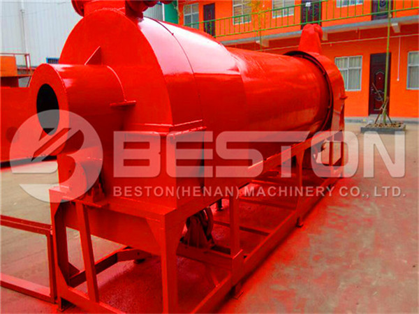 Dryer for Coconut Shell Charcoal Machine
