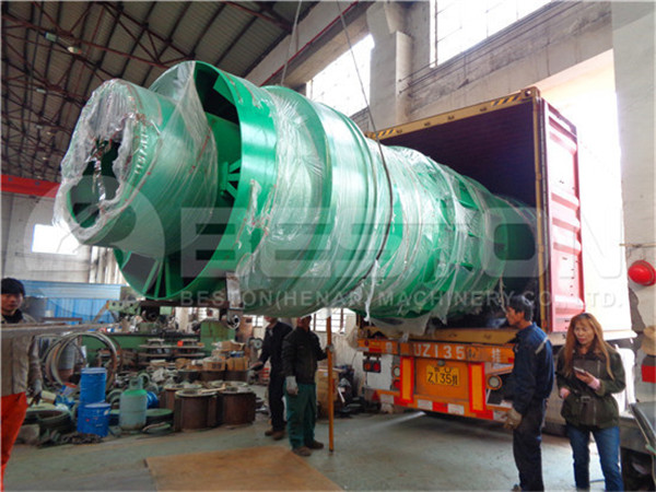 Coconut Shell Charcoal Machine to Spain