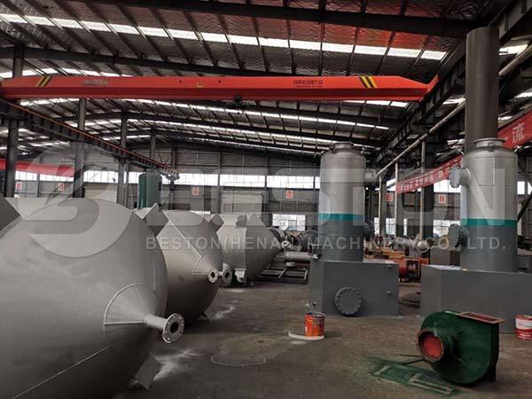 Waste Oil Distillation Plant Part