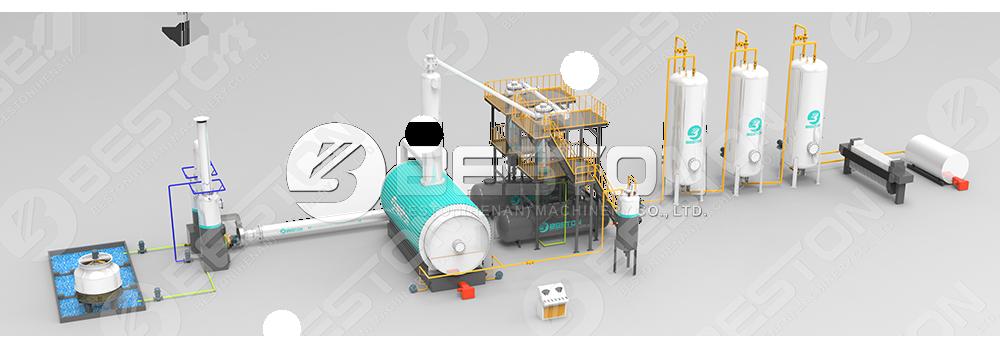 Waste Oil Distillation Plant Design
