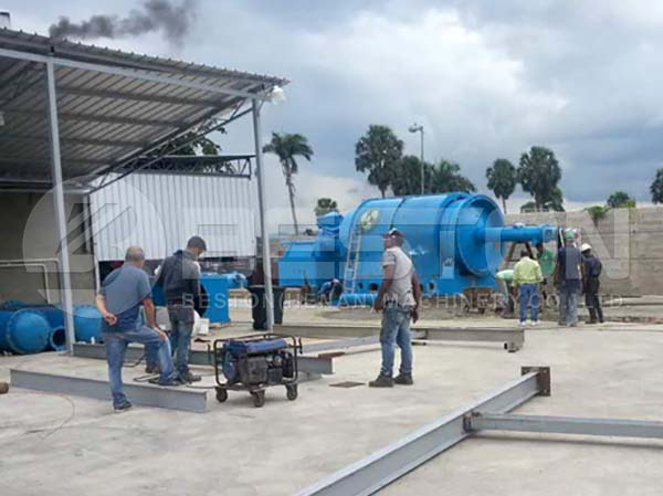 Waste Pyrolysis Plant in Dominica